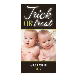 TRICK OR TREAT | HALLOWEEN PHOTO CARD