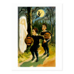 Trick or Treat Halloween Post Card