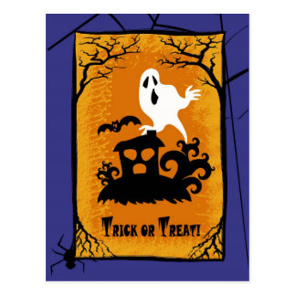 Trick or Treat! Halloween Postcards