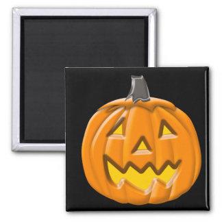 Trick or Treat Halloween Pumpkin Square Magnet