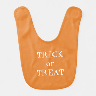 Trick or Treat Halloween Reversible Bib