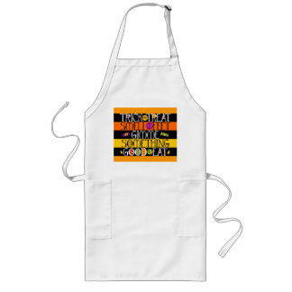 Trick or Treat Halloween Rhyme Long Apron