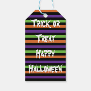 Trick or Treat Happy Halloween tag