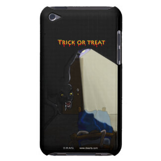 Trick or treat hard case barely there iPod cases