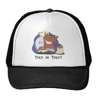 Trick or Treat Trucker Hats