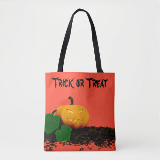 trick or treat - Jack O'Lantern pumpkin Tote Bag