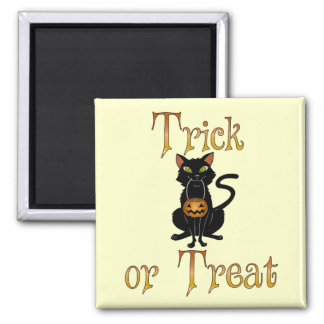 Trick or Treat Kitty Refrigerator Magnets