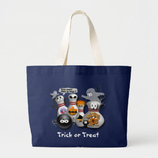 Trick or Treat Large Tote Bag