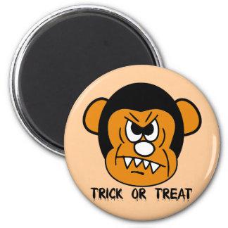 trick or treat refrigerator magnet
