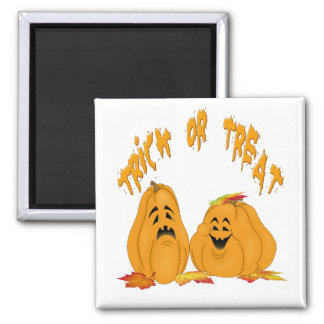 Trick-or-Treat Magnet (White Background)