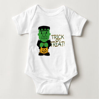 Trick or Treat Monster Baby Shirt