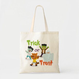 Trick or Treat Monster Costume Kids