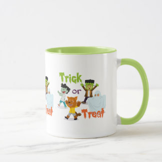 Trick or Treat Monster Costume Kids Mug