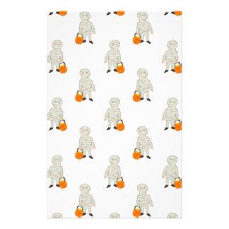 Trick or Treat Pattern Halloween Toddler Mummies 14 Cm X 21.5 Cm Flyer