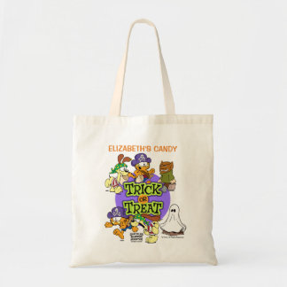 Trick-or-Treat Personalized Tote Bag