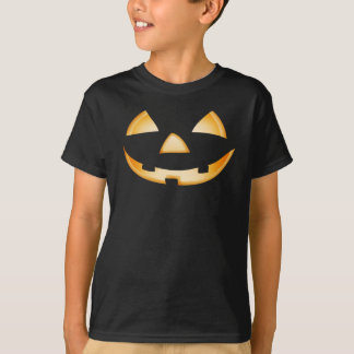 Trick Or Treat Pumpkin Face Halloween T-Shirt