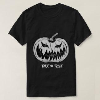 Trick or Treat Pumpkin T-Shirt, Black T-Shirt