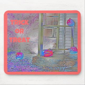 Trick or Treat Pumpkins Gimp Art Mousepads