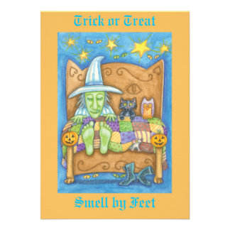 Trick or Treat - Smell my feet Announcements