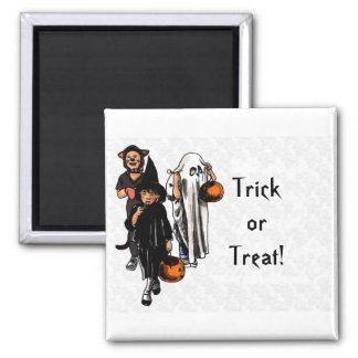 Trick or Treat! - Square Magnet 2 Inch Square Magnet