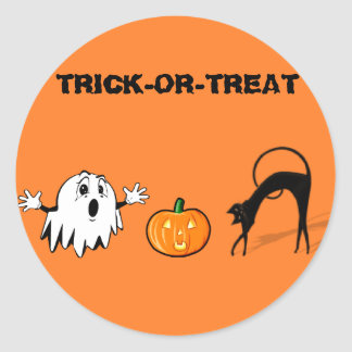 TRICK-OR-TREAT STICKER