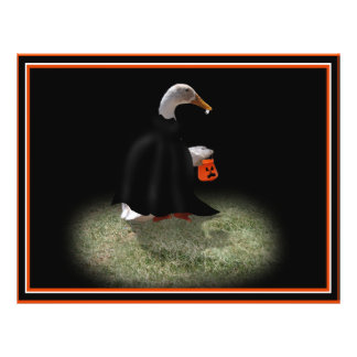 Trick or Treat Time for Count Duckula! Custom Flyer