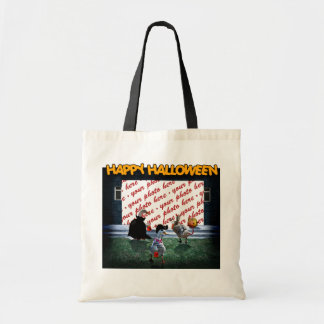 Trick or Treat Time for these Little Ducks Budget Tote Bag
