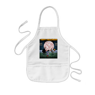 Trick or Treat Time for these Little Ducks Kids Apron