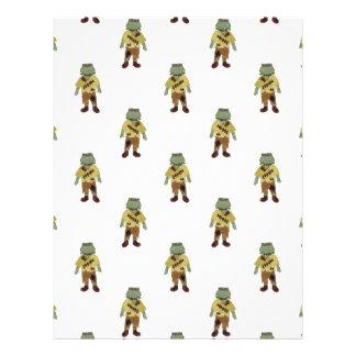 Trick or Treat Toddler Frankenstein Monster 21.5 Cm X 28 Cm Flyer