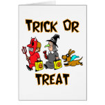 Trick Or Treat (Trick-Or-Treaters With Dog)