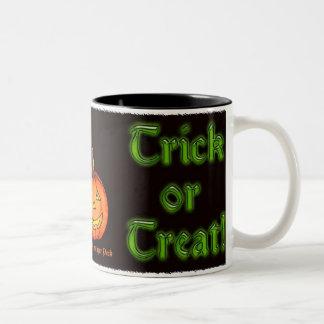 Trick or Treat Two-Tone Mug