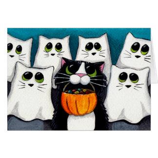 Trick or Treat v 2 - Halloween Card