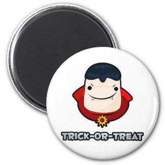 Trick or Treat Vampire 6 Cm Round Magnet