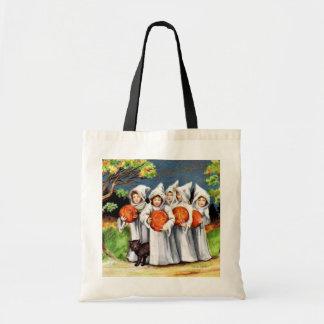 Trick or treat Vintage kids Halloween bag