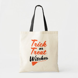 Trick or Treat Witches funny Halloween bag