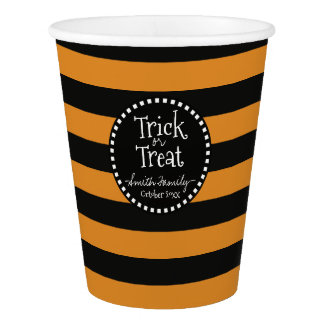 Trick or Treat Witch's Whimsical Stripes
