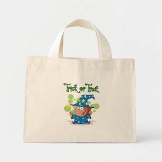 Trick or Treat Wizard Mini Tote Bag