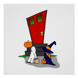 Trick or Treaters Posters