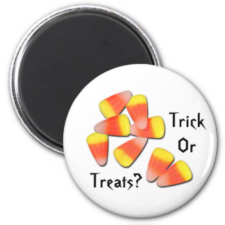 Trick Or Treats? 6 Cm Round Magnet