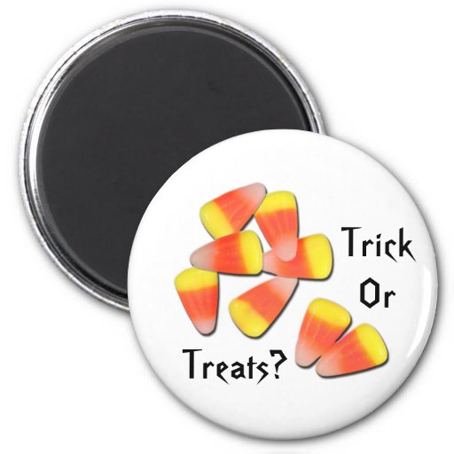 Trick Or Treats? Magnet