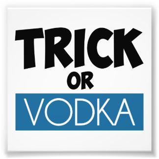 Trick or Vodka Photograph
