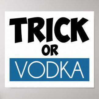 Trick or Vodka Print