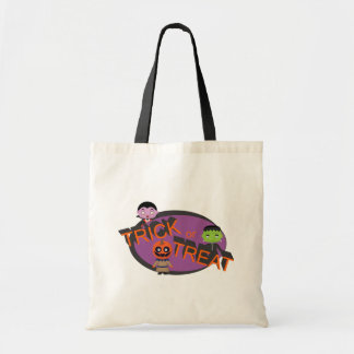 Trick orTreat Monsters Purple Tote Bag