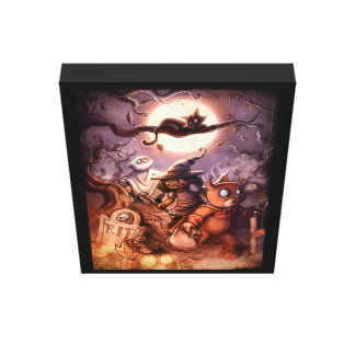 Trick R' Treat! Canvas Print
