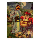 Trick R' Treat (Vintage Halloween Card)