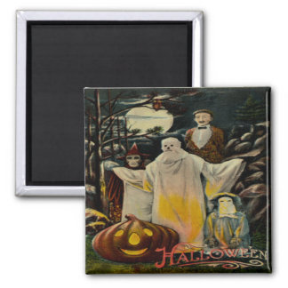 Trick R' Treaters Square Magnet