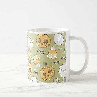 Trick Treat Boo Halloween Mug