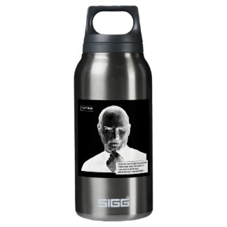 Trick Your Brain Portrait Insulated Water Bottle