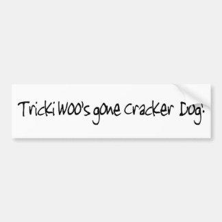 Tricki Woo Bumper Sticker