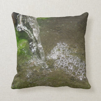 Trickling Waterfall Bubbling Water Pillow